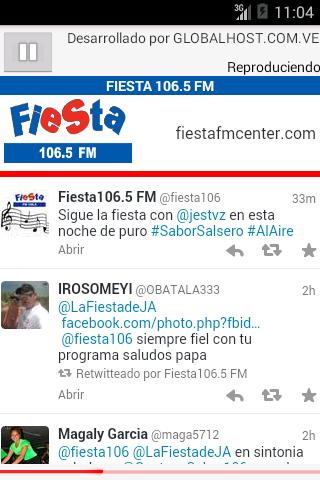 FIESTA 106.5 FM CENTER  screenshots 1