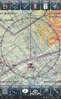 Screenshot of Anywhere Map--Aviation GPS
