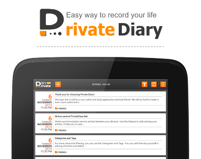 Private DIARY Free - Personal journal- screenshot thumbnail