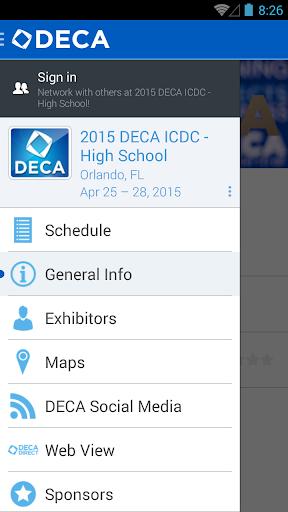 DECA Inc. Events