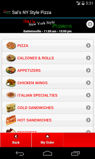 Sal's NY Style Pizza