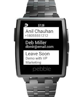 reqallable for Pebble Screenshot 1