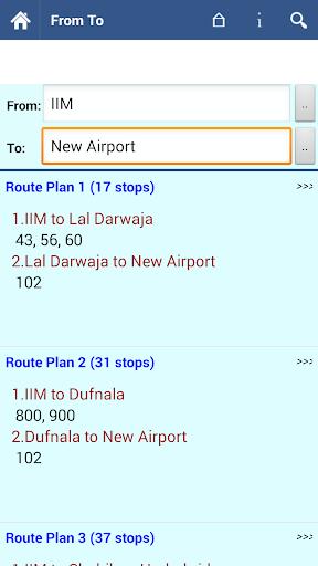 Ahmedabad AMTS Info  screenshots 4