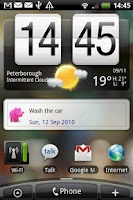 Screenshot of dont4get Widget XL
