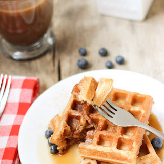 Best Ever Whole Wheat Waffles