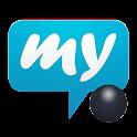 mysms - Dark Theme for Tablet icon