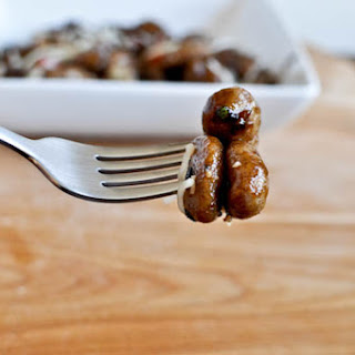 Gnocchi with Balsamic Reduction.