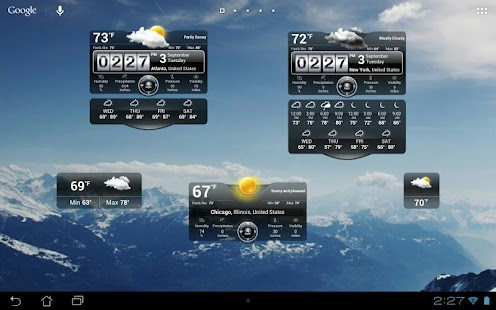 Thời tiết Động - screenshot thumbnail