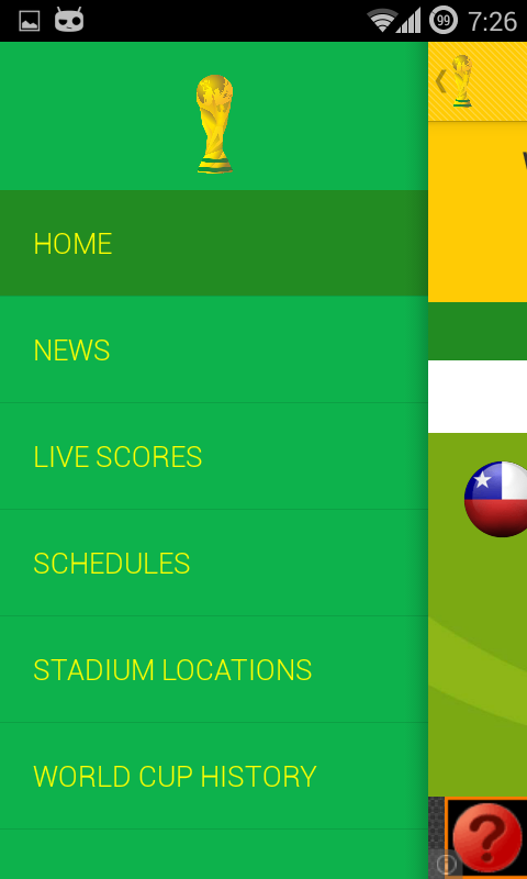 World Cup Soccer 2014 Brazil - screenshot