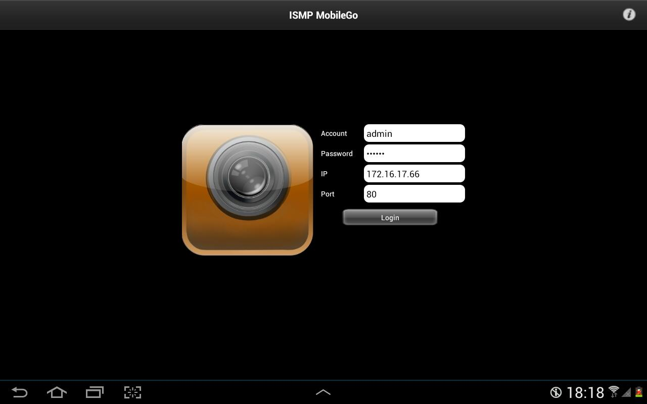 ISMP MobileGo - screenshot