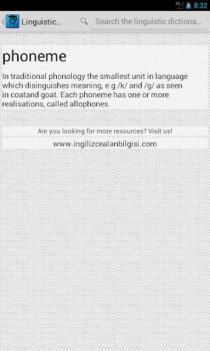 【免費教育App】Linguistic Sözlük-APP點子