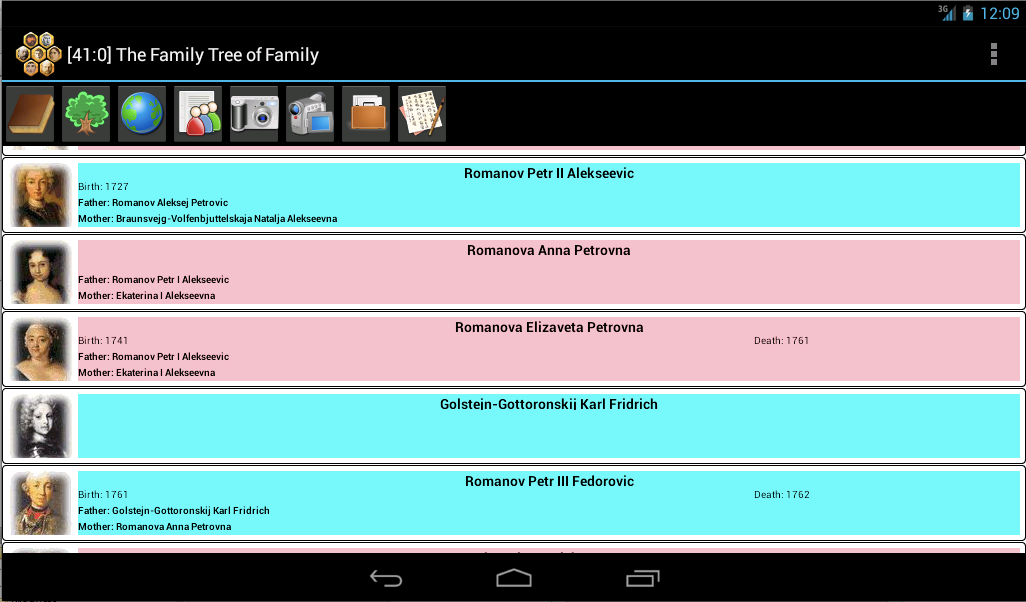 The Family Tree of Family- screenshot