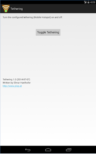 Tethering - Mobile Hotspot On
