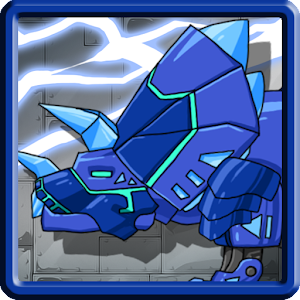 Dino Robot – Triceratops Blue for PC and MAC