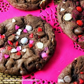 Sixlets & Chocolate Chip Fudge Cake Mix Cookies Recipe