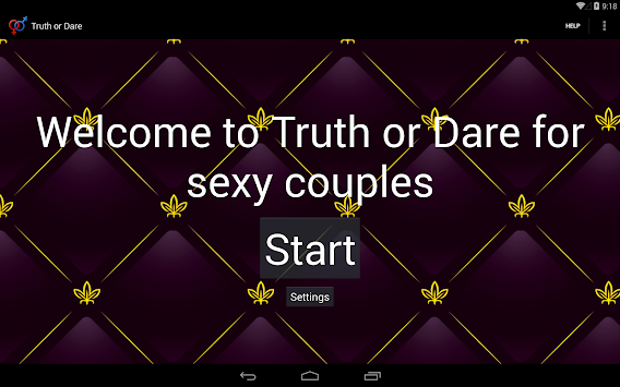 Truth or Dare for Couples 18+ apk screenshot