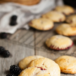 Blackberry Mascarpone Hand Pies