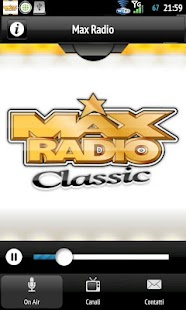 MaxRadio- screenshot thumbnail