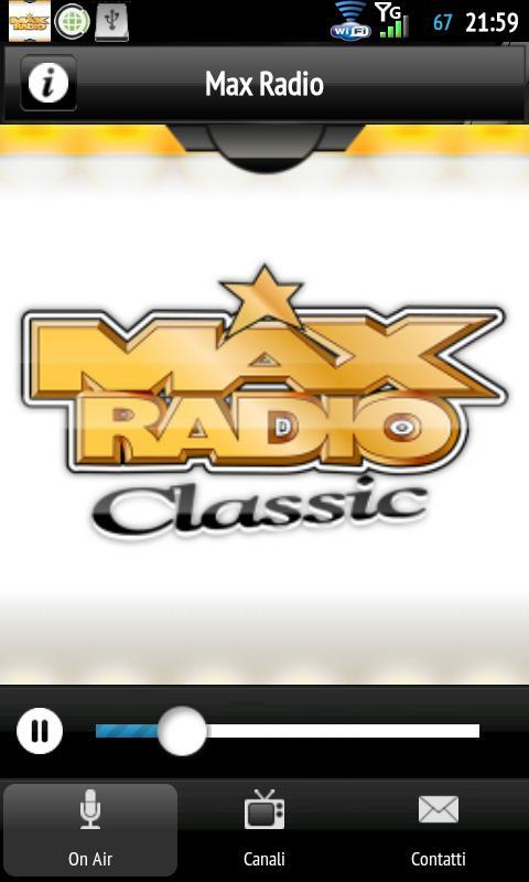 MaxRadio- screenshot
