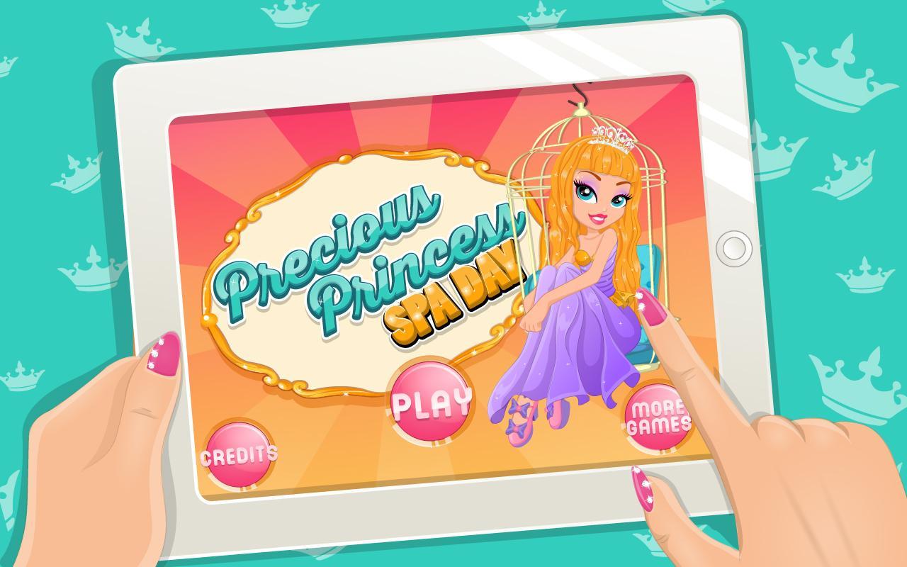 Precious Princess Spa Day - screenshot