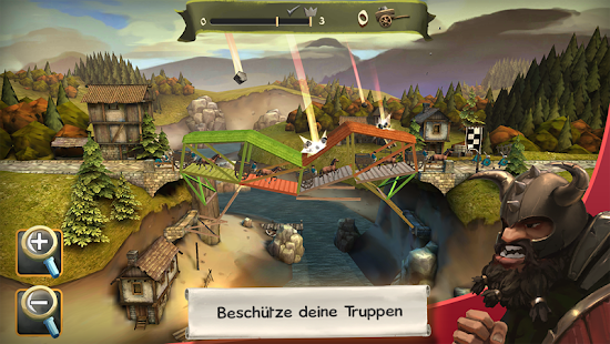 Bridge Constructor Mittelalter Screenshot