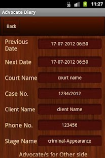 Advocate Diary - screenshot thumbnail