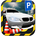 Virtuelles Auto parken icon