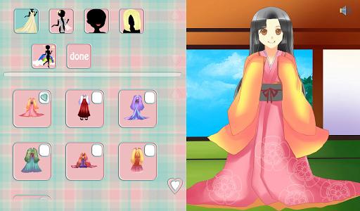 Sakura Tries Cute Kimonos