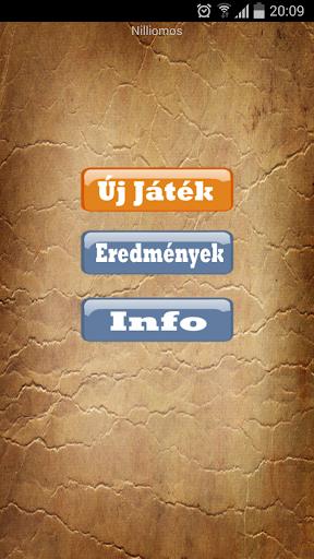 【免費益智App】Milliomos - Magyar-APP點子