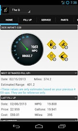 DriverDiary - Gas Mileage Screenshot 8