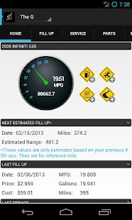 DriverDiary - Gas Mileage Screenshot 8