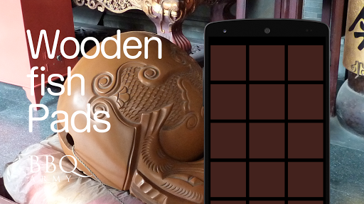 Wooden fish Pads