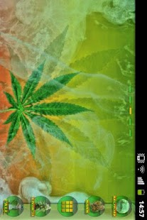 GO Launcher Ganja Weed Theme - screenshot thumbnail