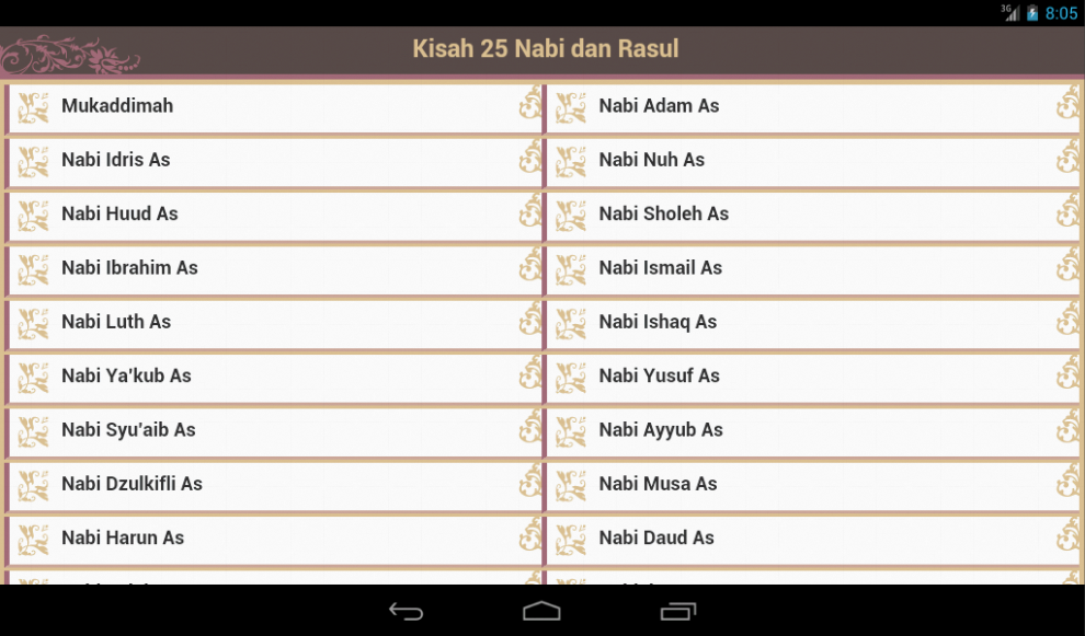 Kisah 25 Nabi & Rasul - screenshot