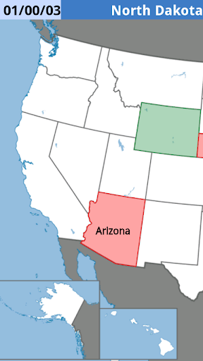 The U.S.: State Capitals - Map Quiz Game - Seterra Online