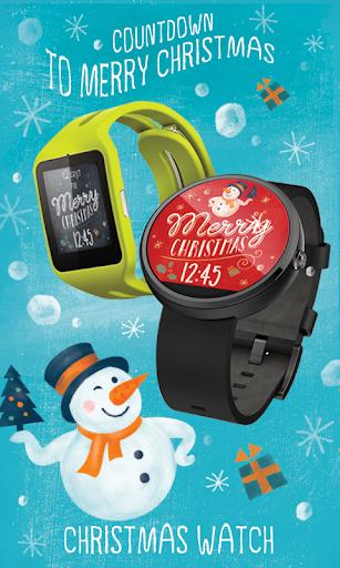 Christmas Wear Watch Face