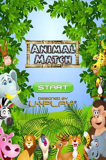 Kids Fun Animal Matching Game
