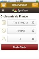 Screenshot of Croissants de France