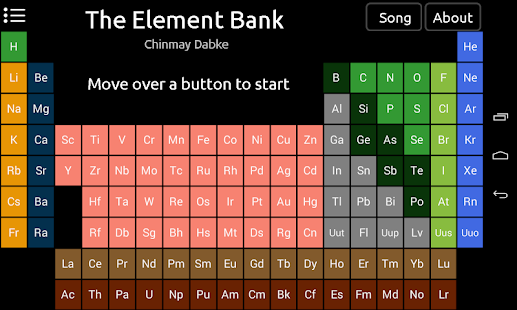 Element bank periodic table apps on google play screenshot image urtaz Gallery