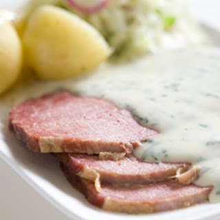 Slow Cooked Corned Beef.