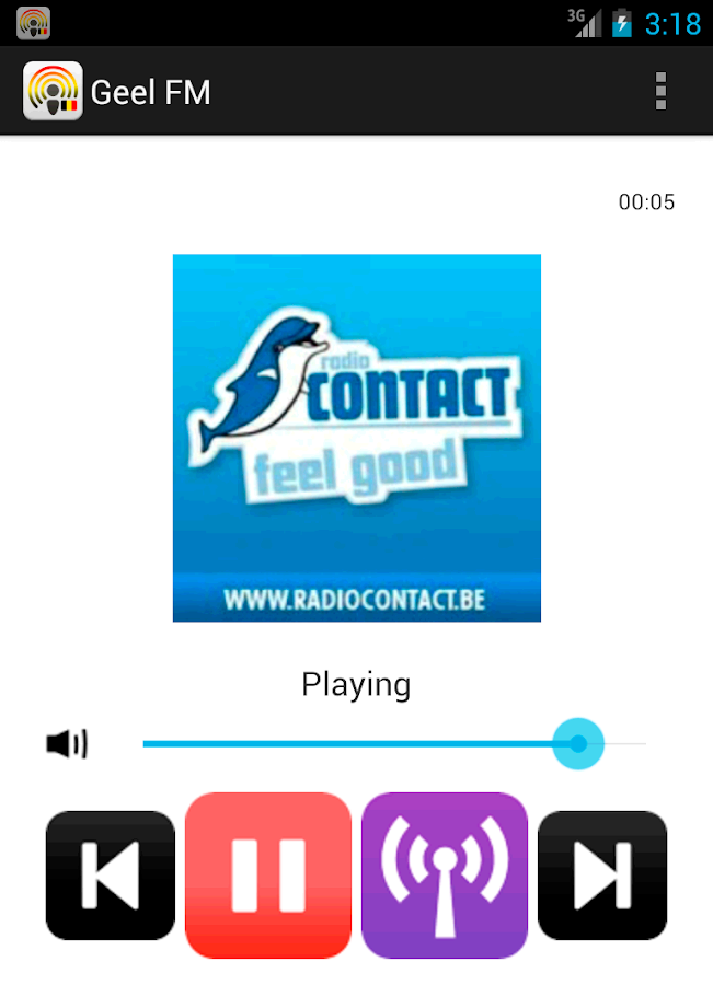 Belgium Radio Online - screenshot