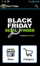 Black Friday Deal Finder Screenshot 1