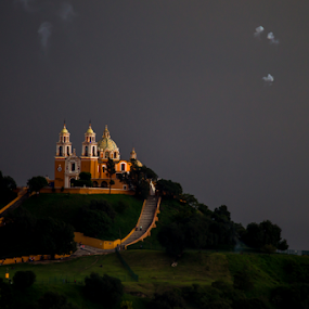 Cholula by Cristobal Garciaferro Rubio - Buildings & Architecture Places of Worship