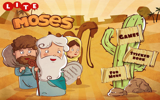 Moses - Sticker Storybook Lite