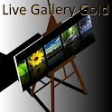 Live Gallery Gold (plus Clock) logo