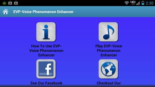 EVP-Voice Phenomenon Enhancer