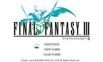 Screenshot of FINAL FANTASY III