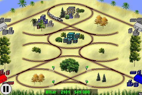 Railway Game in India - screenshot