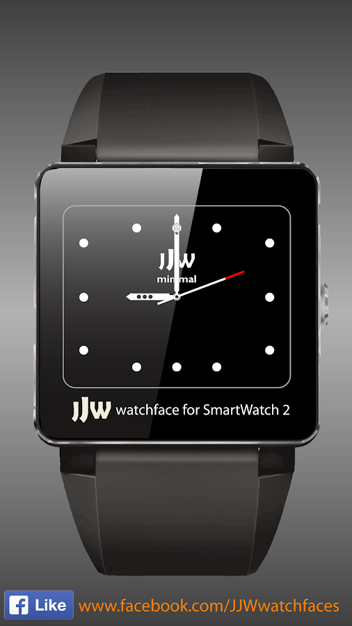 JJW Minimal Watchface 1 SW2- screenshot