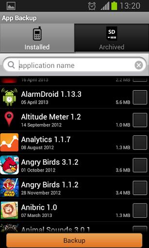 App Backup  screenshots 2
